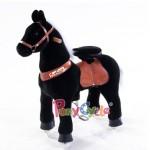 Черная лошадка...